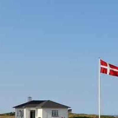 Färja till Danmark
